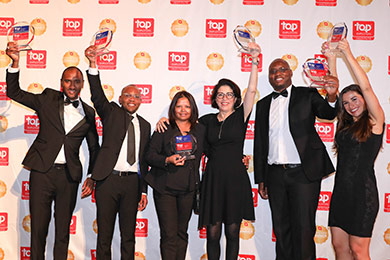 We're a top employer in Africa