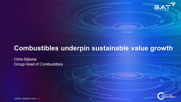 Combustibles underpin sustainable value growth