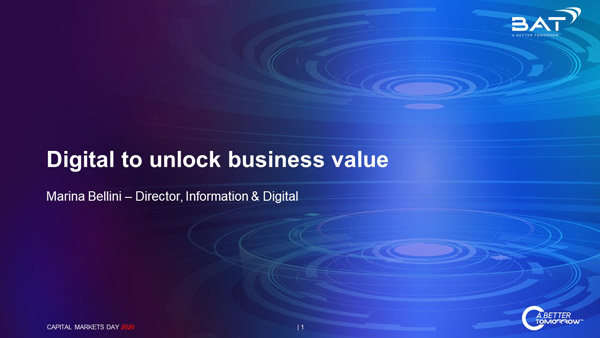 Digital to unlock business value