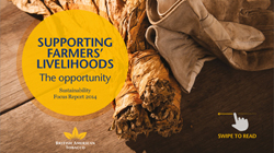 Supporting farmers livelihoods